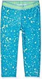 Under Armour Kids Girl's Printed Armour Capris (Big Kids) Blue Shift/Blue Infinity/Quirky Lime LG