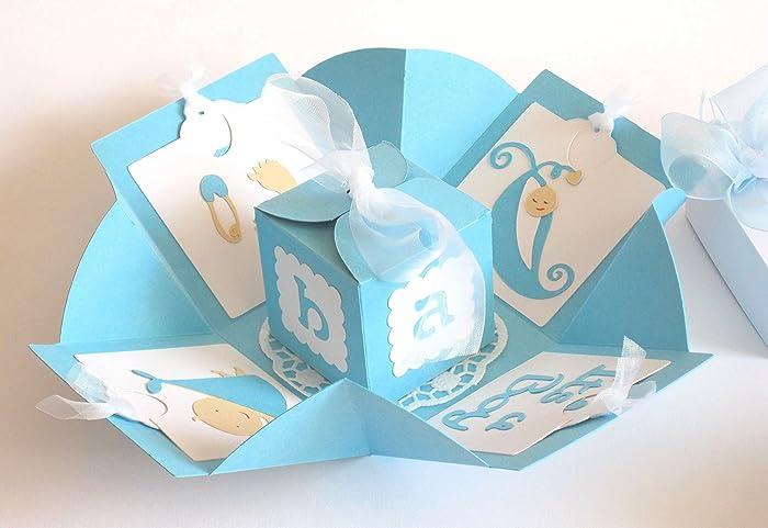Geldgeschenk Geschenkverpackung Geschenk Zur Geburt Junge Baby
