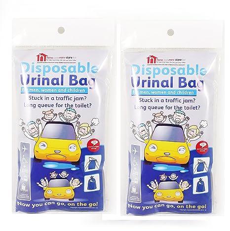 2 Paquetes De 4 desechable (– Bolsas urinals compacto y portátil para hombres y mujeres
