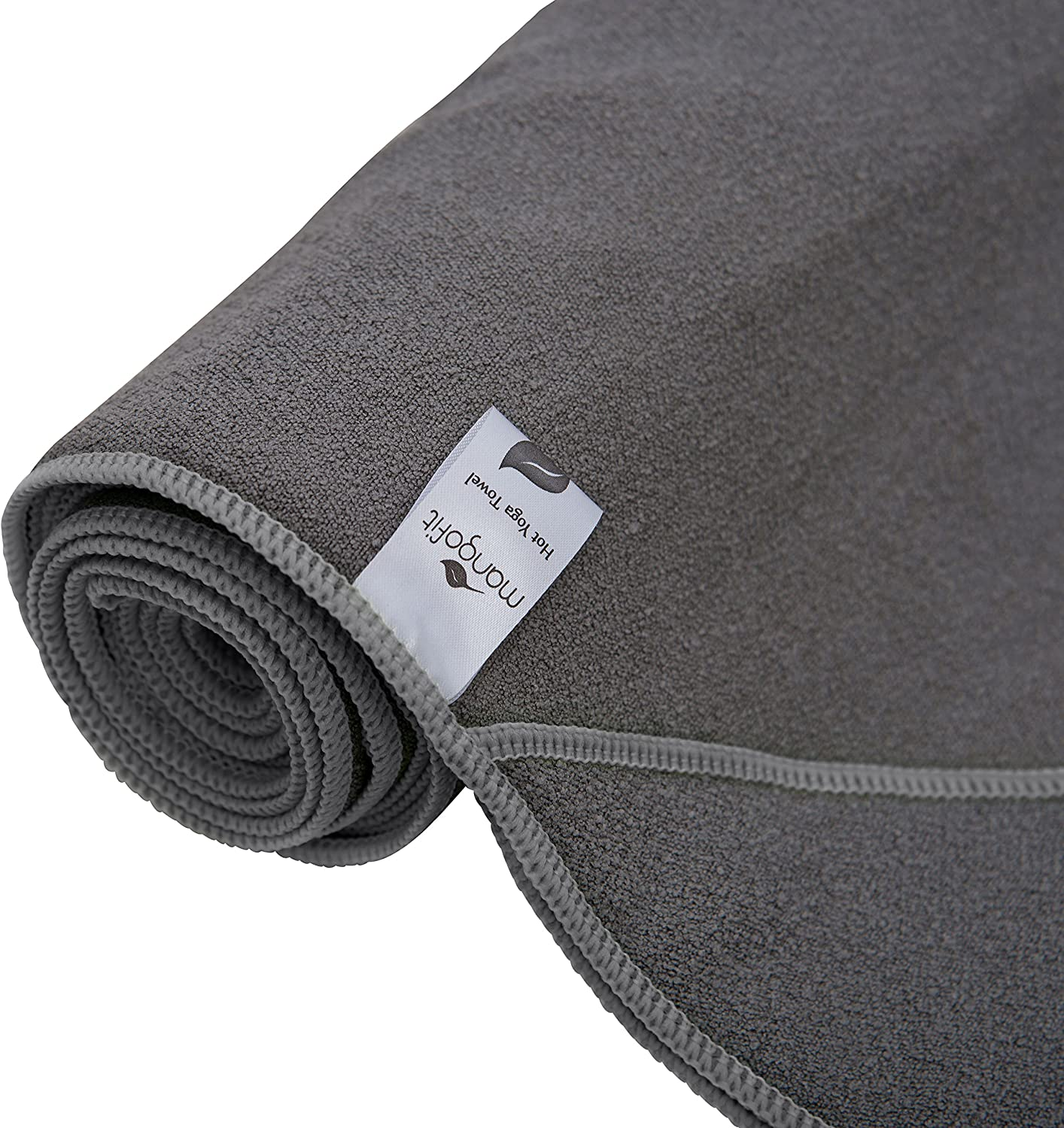MangoFit Best Hot Yoga Towel with Anchor Fit Corners for Your Mat 72 x 24-100% Hygienic New Microfiber Fast Absorbent -Skidless, Non Slip, Yoga Towel ...