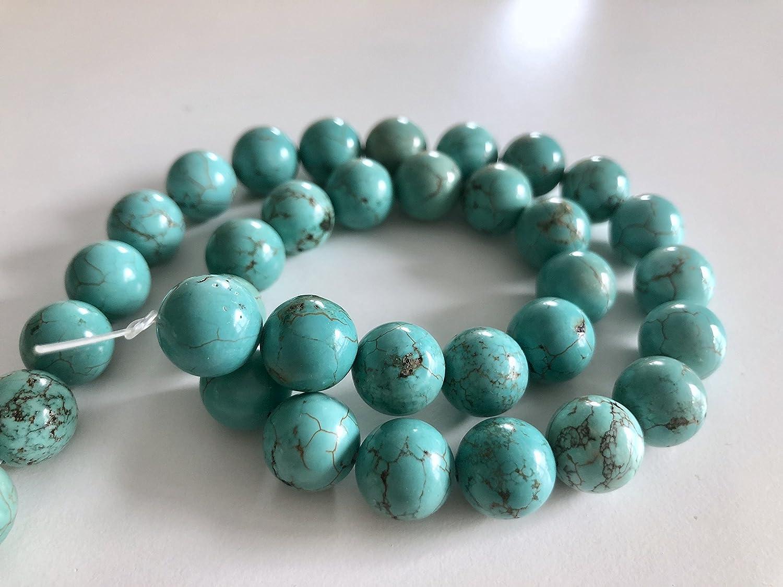 Rhinestone Paradise un Filo 4 mm turchesi Perle Perle 4 mm turchesi Collana Turquoise Celestial Stone Gioielli Fai da Te Pietre Perle Pietre preziose Perle Gioielli Perle Fai da Te