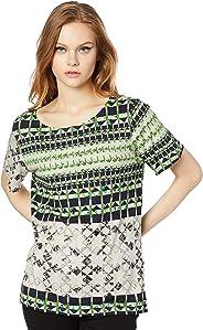 Camiseta boy, Forum, Feminino, Amarelo/verde/off/rosa/preto, P