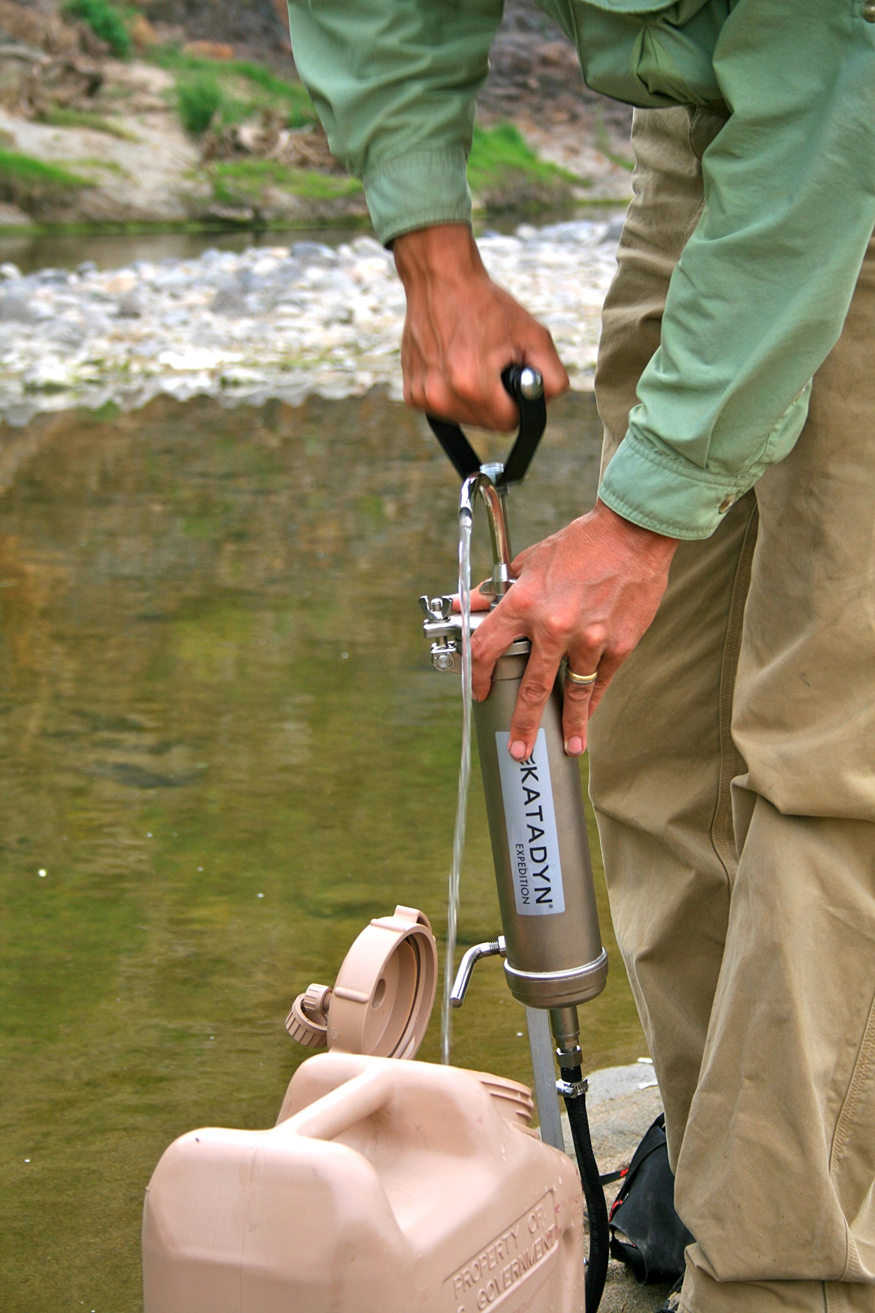 Katadyn KFT Expedition Water Filter