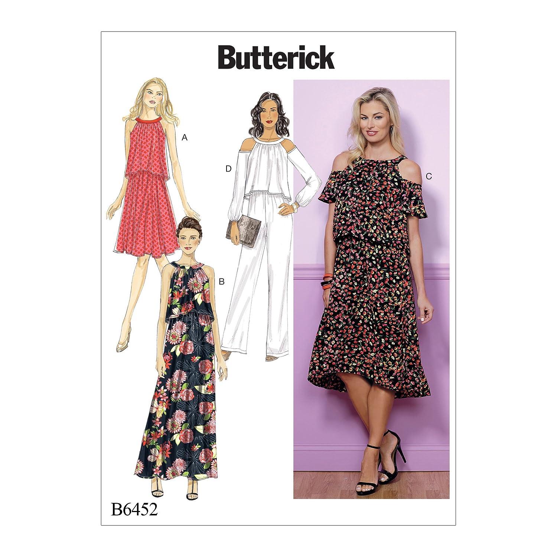 Butterick Patterns MCCALL \'s Patterns 6452 A5, Patrones de Costura ...