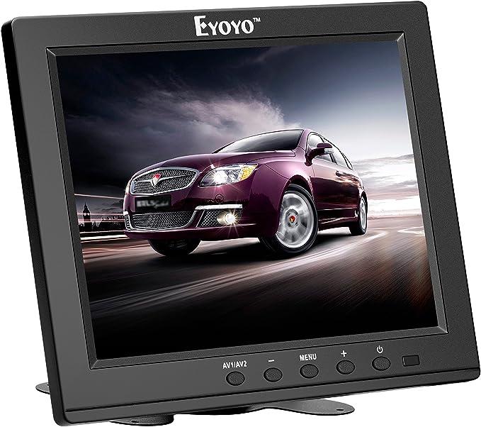 Eyoyo 8 Inch TFT LCD Pantalla de monitor de video en color 1024x768 VGA BNC AV HDMI entrada Altavoz incorporado para PC CCTV Seguridad para el hogar: Amazon.es: Electrónica