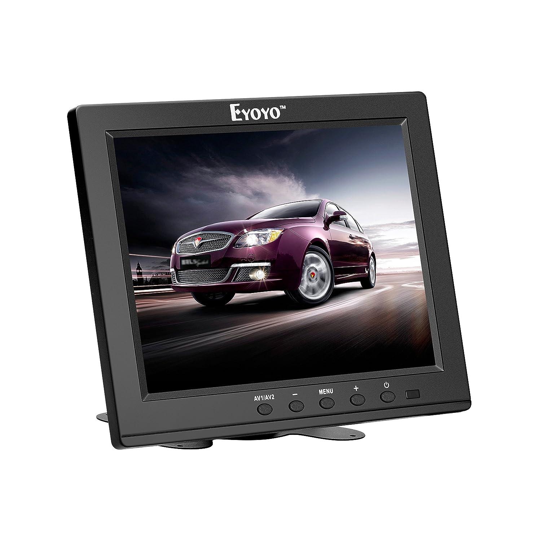Eyoyo 17 Pouces Moniteur LCD Panoramique1280x1024 Ré solution 4: 3 FHD 1080P É cran vidé o HD HDMI BNC VGA AV USB En / OutG1 Ecouteur (17 '' 1280x1024 LCD) JSW170H