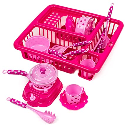 Buy Toysery Pretend Play Kitchen Set Fun Cooking Toy Set For