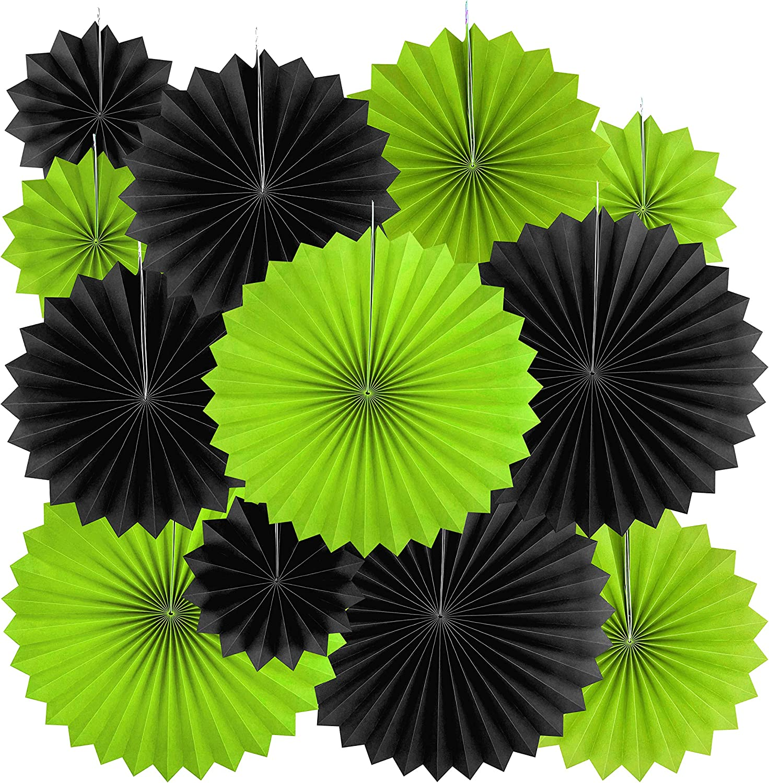 Light Green Paper Fans