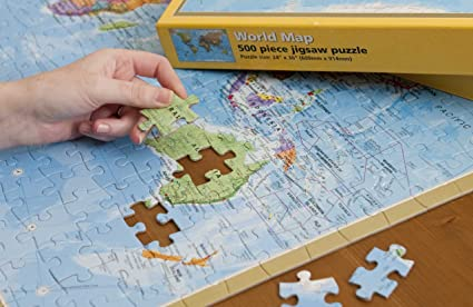 Amazon jigsaw puzzle world 500 pieces hema 609 maps amazon jigsaw puzzle world 500 pieces hema 609 maps international toys games gumiabroncs Gallery