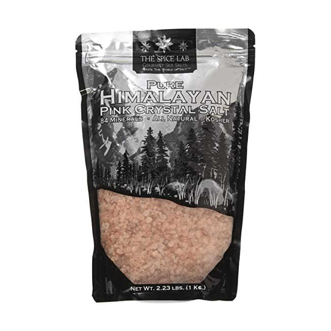 The Spice Lab Pink Himalayan Salt - 1 Kilo Coa...
