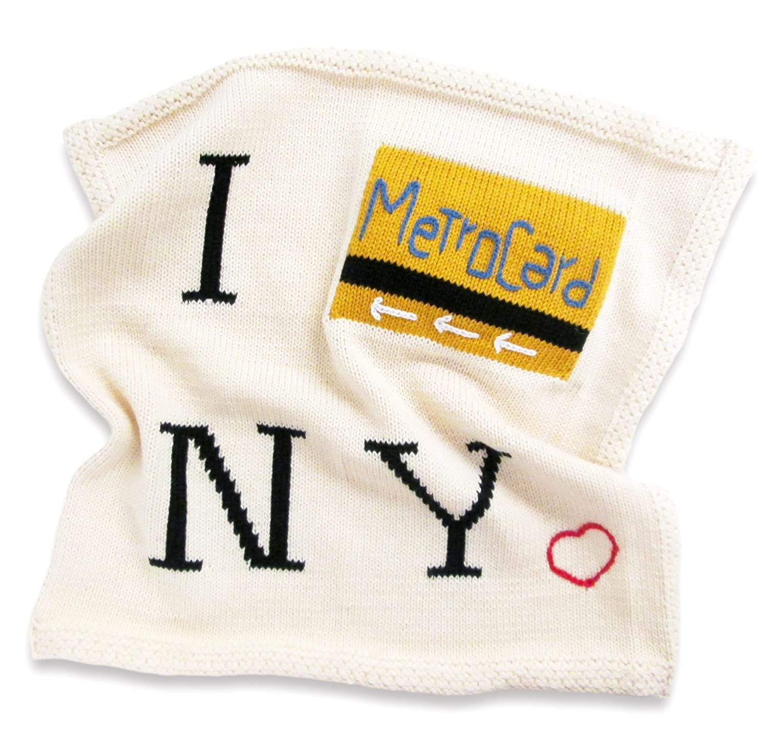 "Metrocard 14/"" x 14/"" Estella Organic Cotton Lovey or Baby Toy Security Blanket"