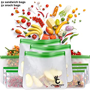 Clever4you Reusable Sandwich Bag