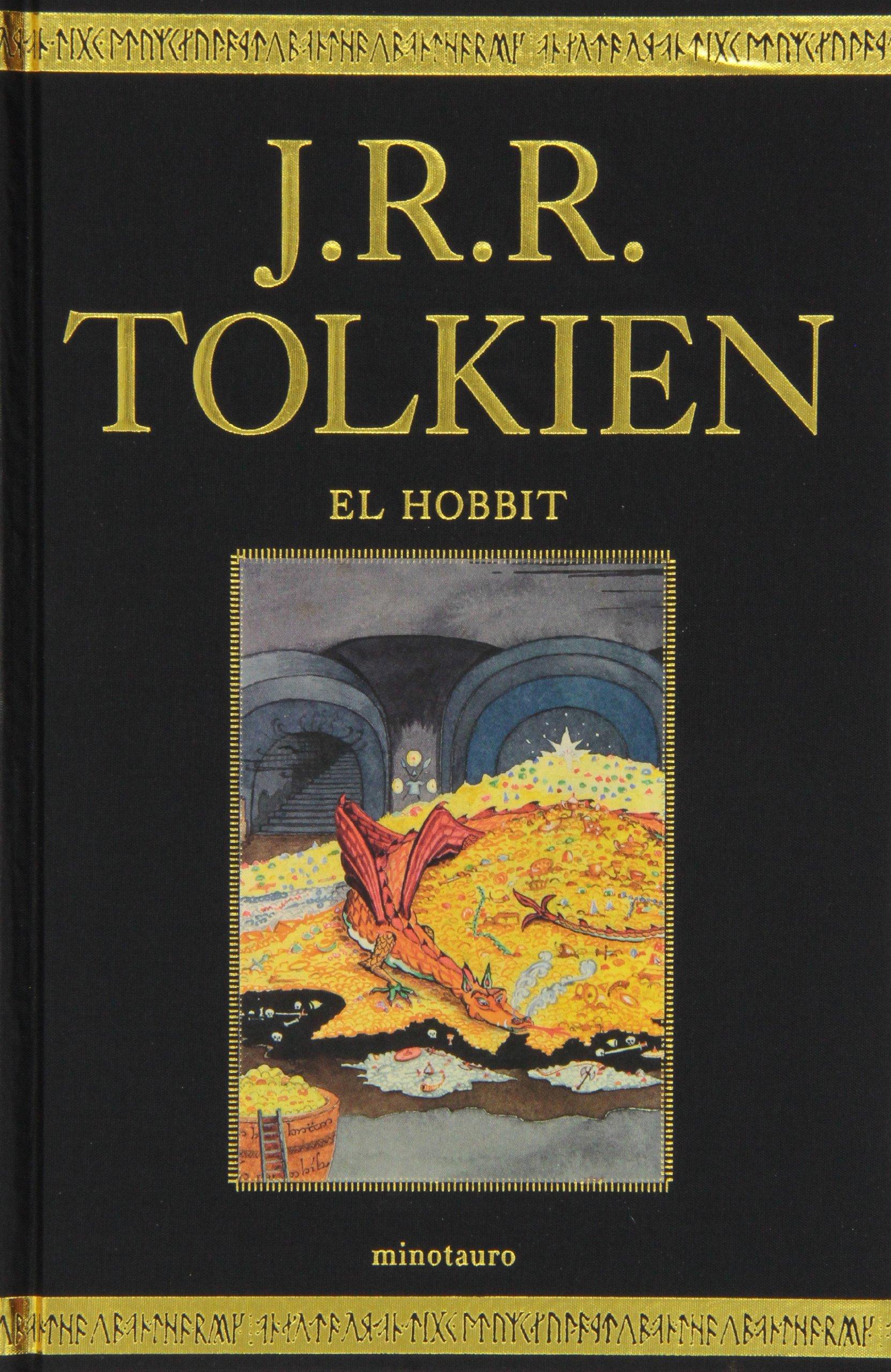 El Hobbit, edición de lujo Biblioteca J. R. R. Tolkien: Amazon.es: J. R. R.  Tolkien, Manuel Figueroa: Libros