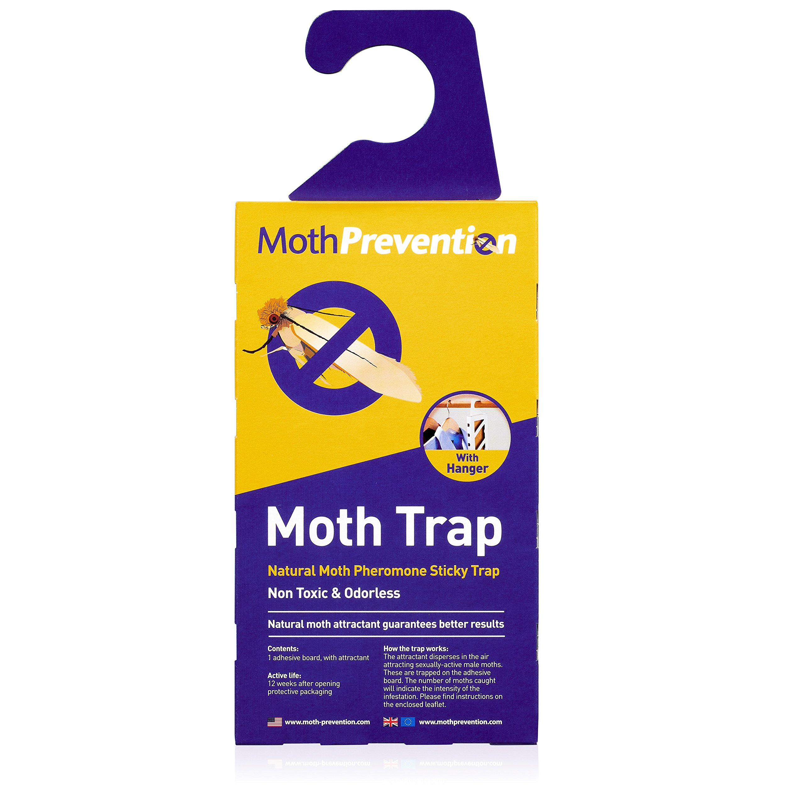 MOTH KILLER KIT for Clothes Moths & Carpet Moths by Moth-Prevention - EXTREME POWER! by West Bay Retail (Image #5)