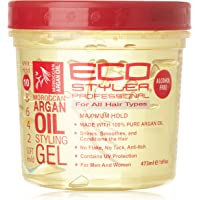 Eco Style Styler Styling Gel with Argan Oil, 16 Fluid Ounce