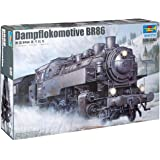 Trumpeter 217 BR86 - Locomotora de vapor [Importado de Alemania]