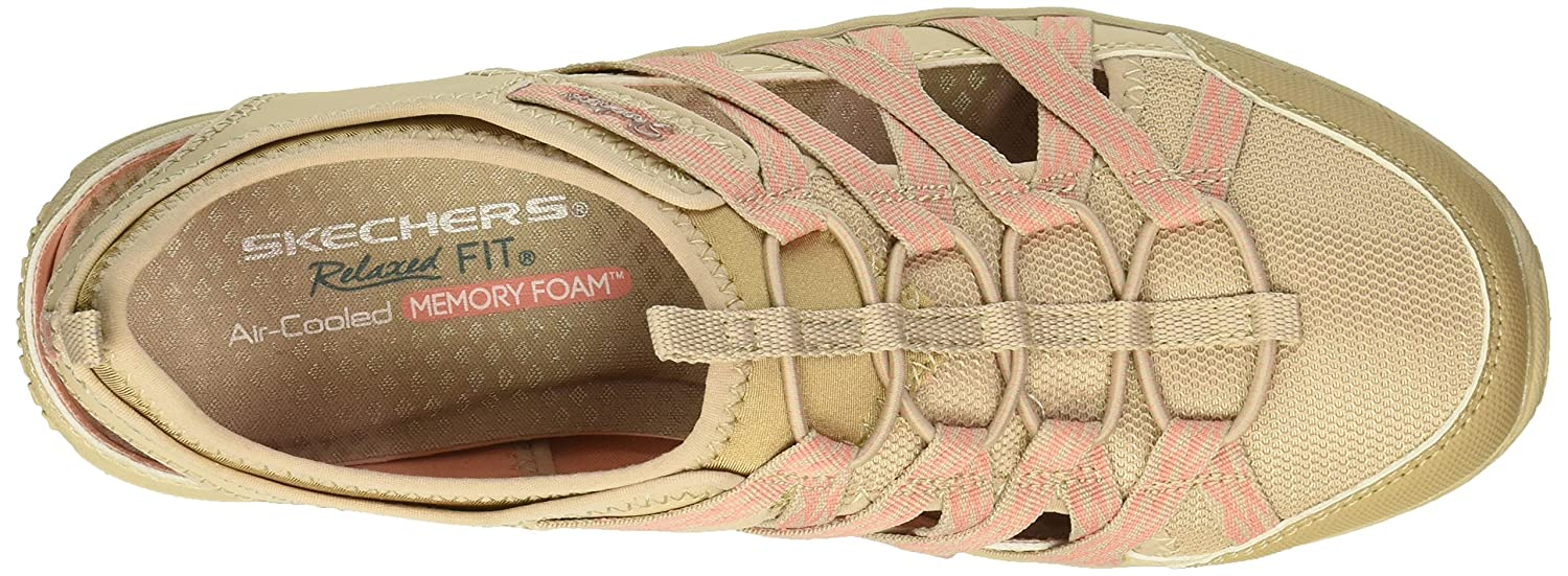 Skechers Women's Water Reggae Fest-Squirt-Fisherman Slingback Casual Water Women's Shoe B079JGTL1T 11 B(M) US|Natural/Coral e45ede
