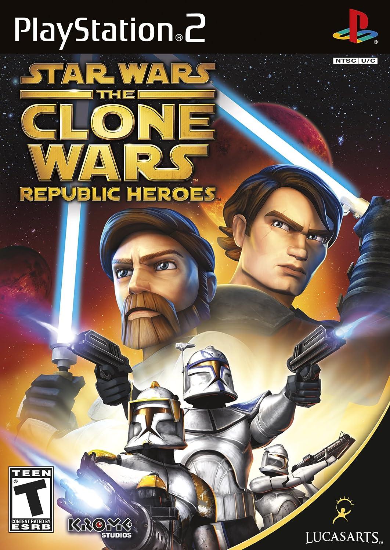 amazoncom star wars the clone wars republic heroes playstation 2 video games - Stars War