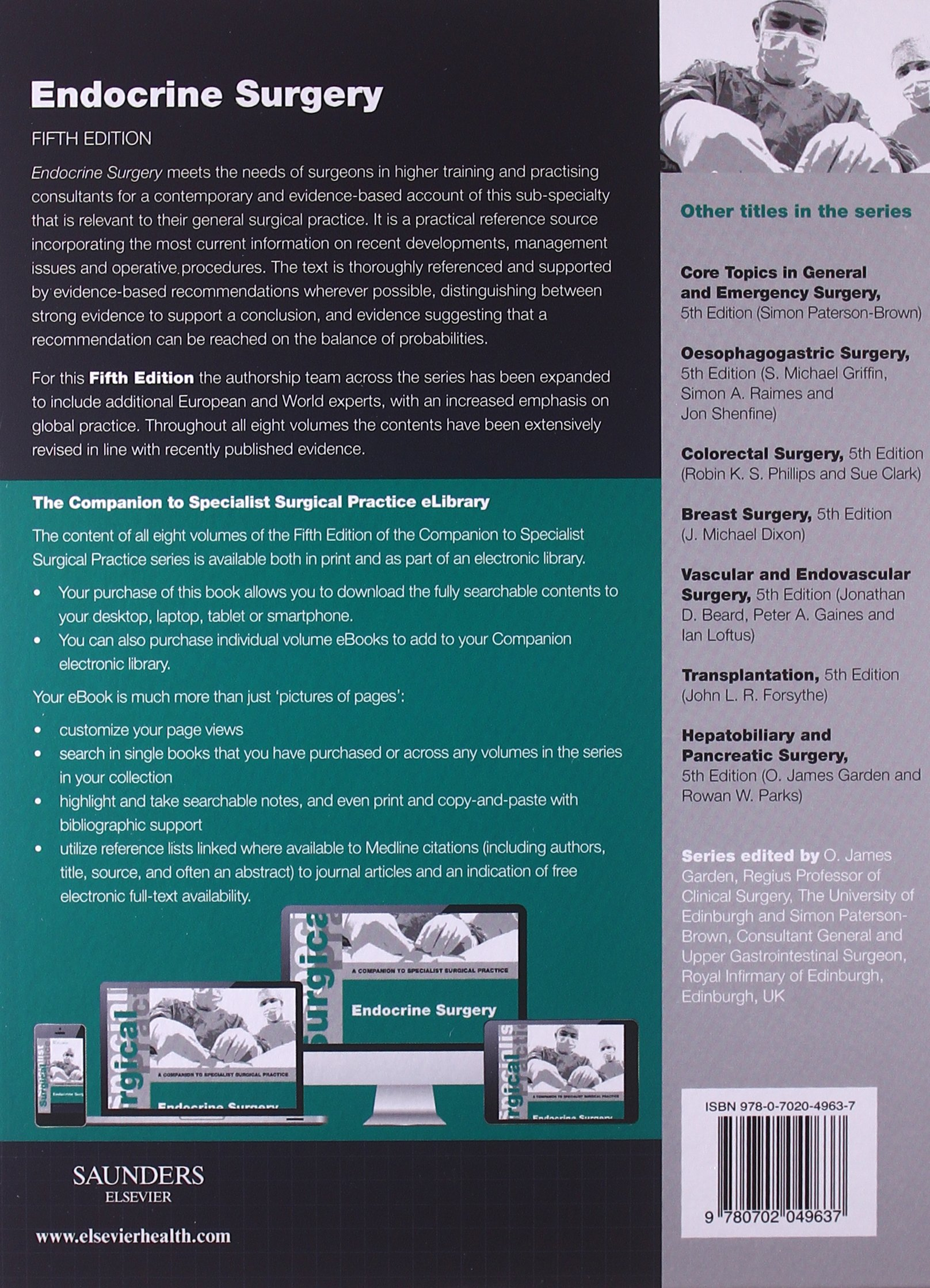Endocrine Surgery - Print and E-Book: A Companion to Specialist Surgical Practice by Brand: Saunders Ltd.