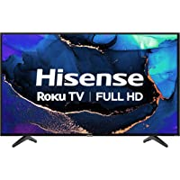 Hisense 40H4G- 40 inch Smart Full Array LED 1080P Roku TV with DTS TruSurround, 3HDMI…