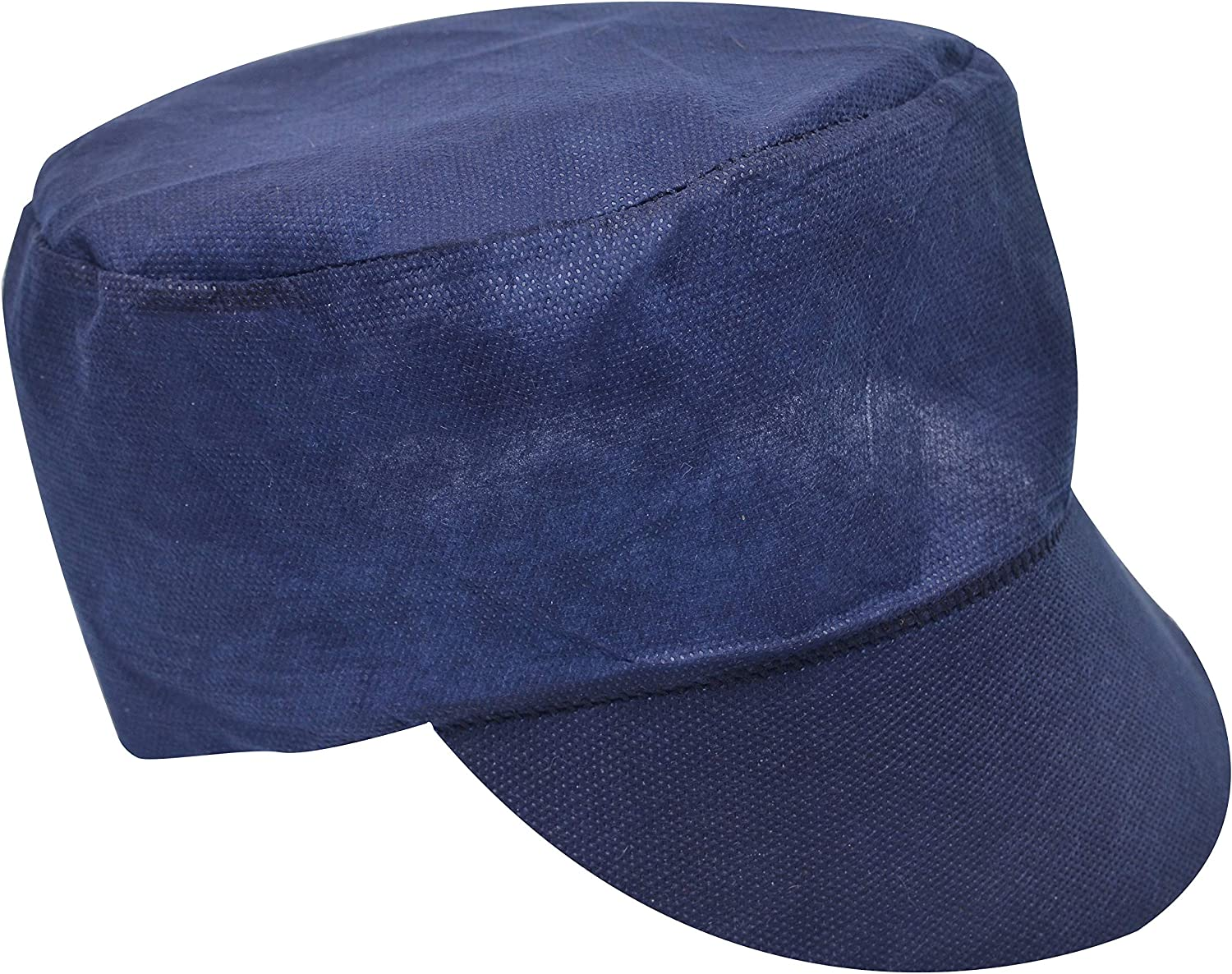 ABC Pack & Supply Polypropylene SafetyPeaked Caps. Unisex Disposable Hair Protection