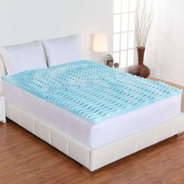 Amazon Sleep Joy 2 inch Orthopedic Gel Foam Mattress Topper