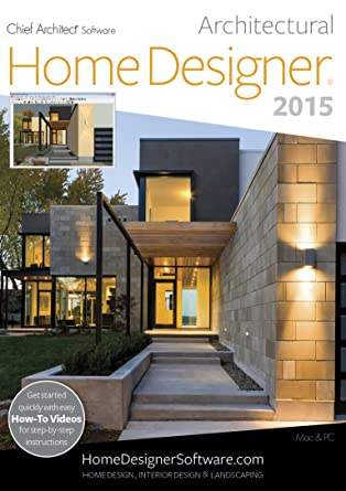 home designer architectural 2015 download - Architect Home Designer