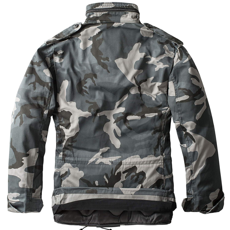 urbandreamz M65 Field Jacket Veste de Combat Bundeswehr Us Army Veste d'hiver Parka Camouflage Dark Camouflage