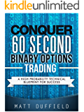 Conquer 60 Second Binary Options Trading: A High Probability Technical Blueprint for Success