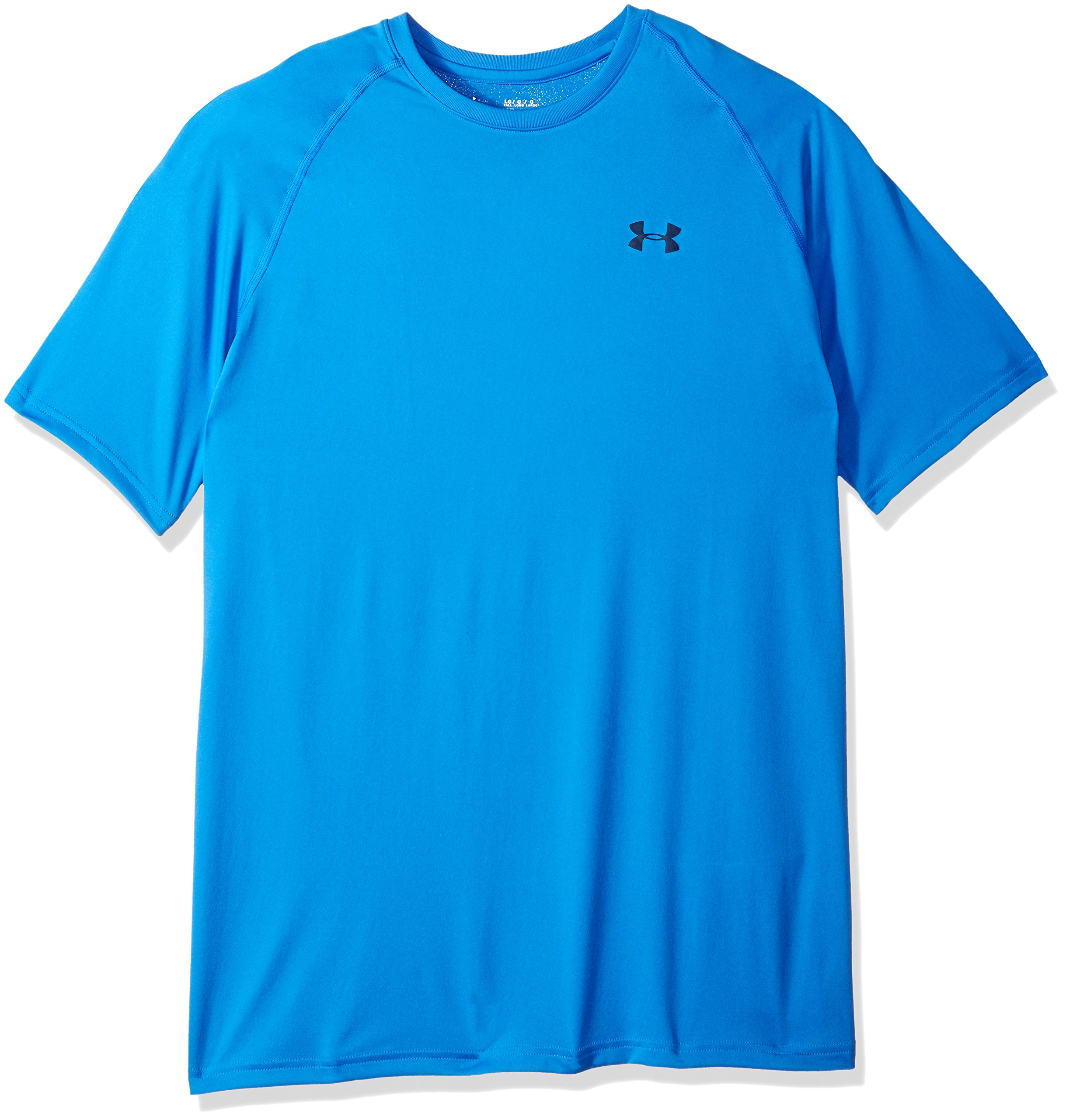 Under Armour Men's Tech Short Sleeve T-Shirt, Mediterranean (437)/Academy, Small