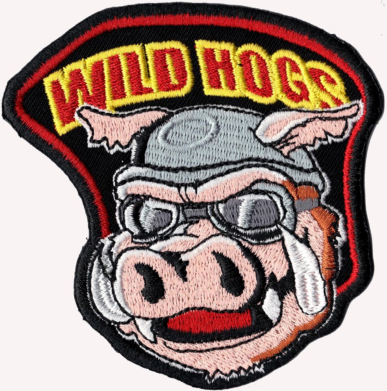 Wild Hogs Wildschwein Motorcycle Movie Mc Biker Patch Aufnäher Aufbügler Auto