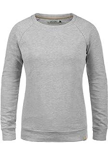 BlendShe Aurelie Damen Sweatshirt Pullover Sweater Mit