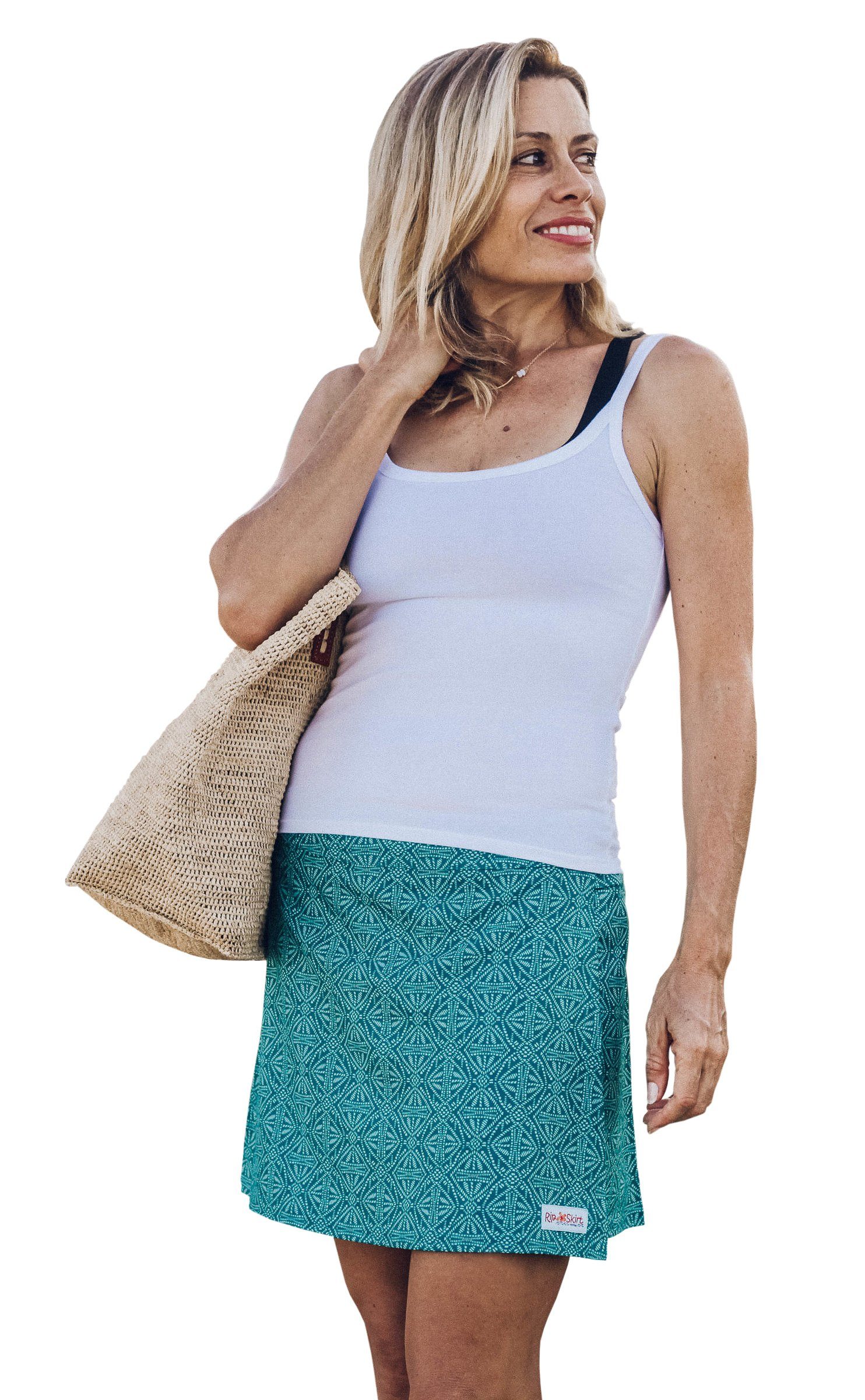 RipSkirt Hawaii Length 1 - Quick Wrap Athletic Cover-up That Multitasks as The Perfect Travel/Summer Skirt