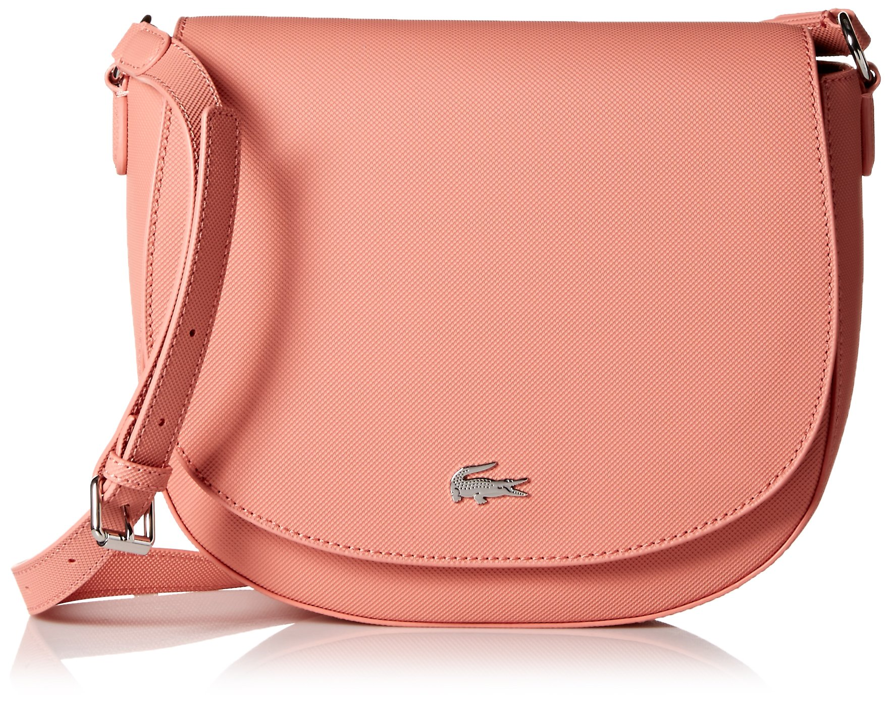Lacoste Daily Classic Round Crossover Bag, Nf2533dc, Canyon Clay