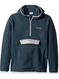 Columbia Mens Rugged RidgeTM Sherpa Pullover Hoodie Fleece Jacket