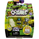 "Ooshies Set 1 ""TMNT Series 1"" Action Figure (4 Pack)"