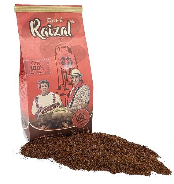 Café Raizal 250 gramos molido, tueste natural: Amazon.es ...