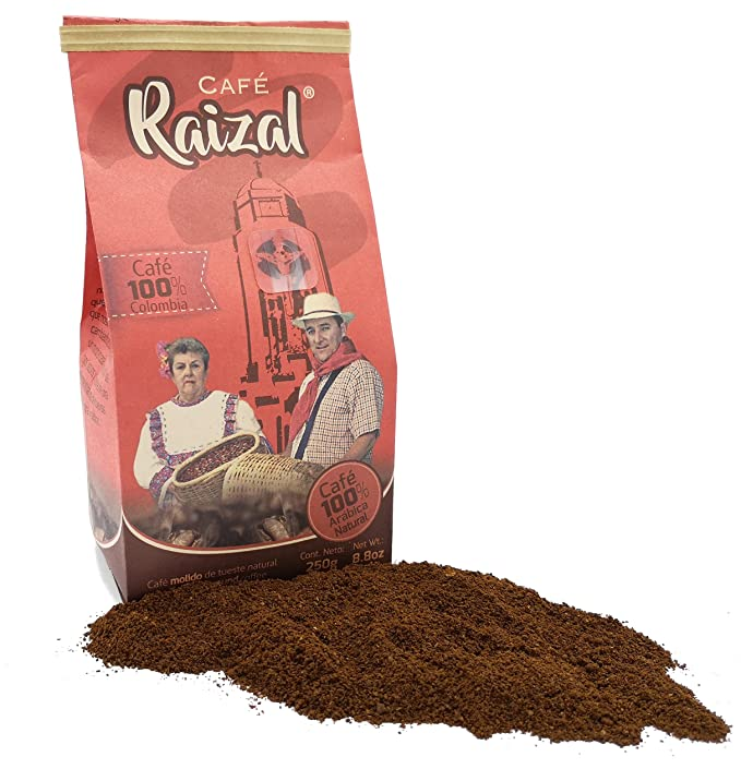 Café Raizal 250 gramos molido, tueste natural: Amazon.es ...