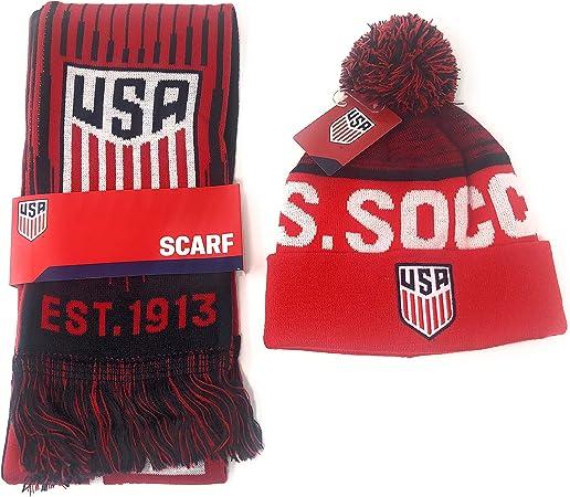 USA Soccer Knit Scarf