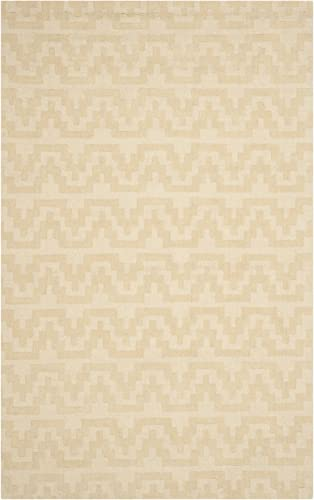 Safavieh Issac Mizrahi Collection IMR501A Handmade Beige and Camel Premium Wool Area Rug 4 x 6