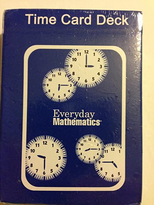 Amazon.com: Everyday Mathematics - Time Card Deck: Office Products