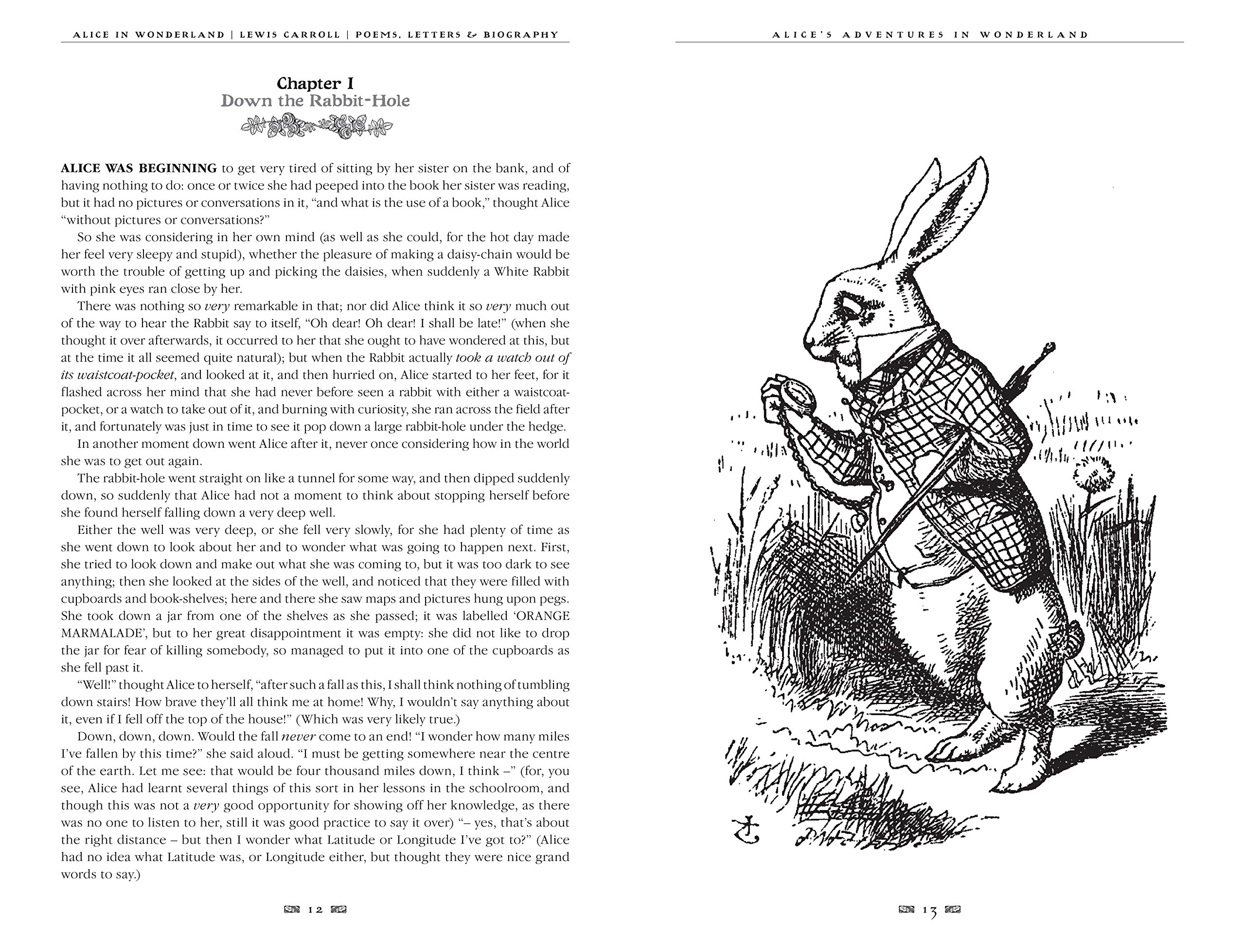Alices Adventures In Wonderland Unabridged With Poems