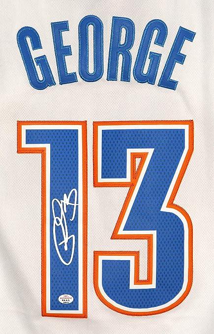 buy popular 2510d d014b paul george autographed jersey