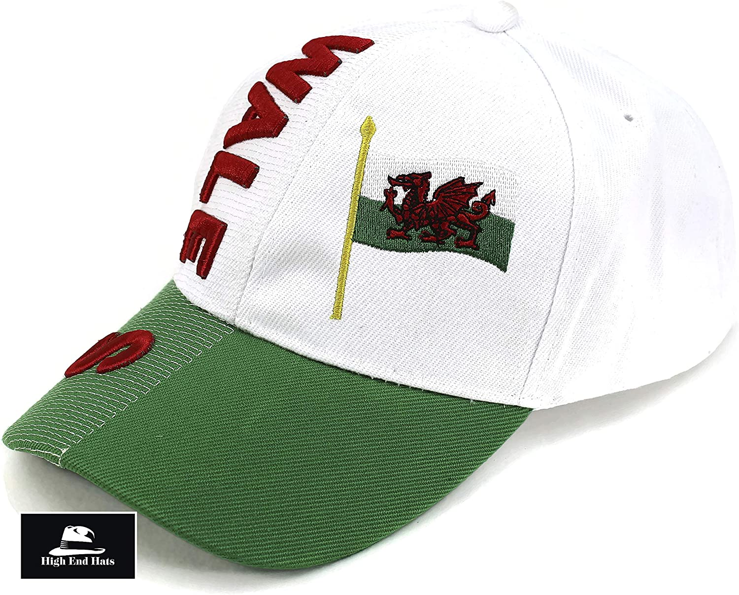 """High End Hats /""""Nations of Europe Hat Collection/"""" 3D Embroidered Adjustable Baseball Cap"""
