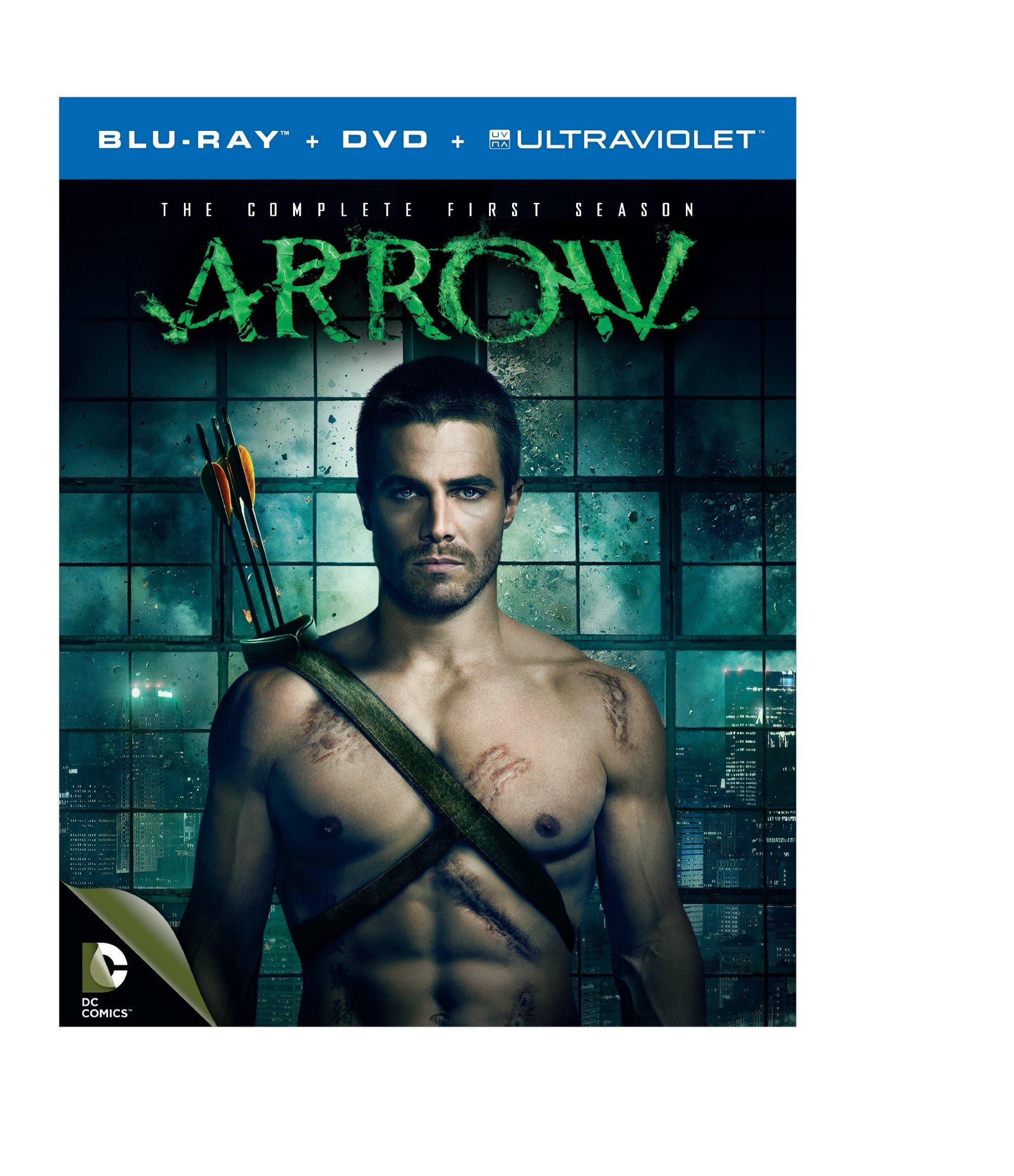 Arrow: Season 1 (Blu-ray + DVD + UltraViolet) by WARNER HOME VIDEO