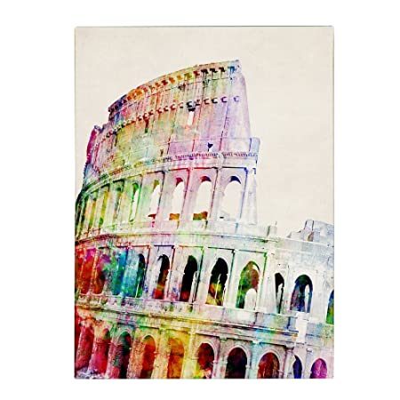 Colosseum by Michael Tompsett, 18 by 24-Inch Canvas Wall Art