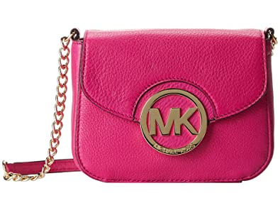9fb3155c939136 Image Unavailable. Image not available for. Color: Michael Kors Fulton Crossbody  Fuschia