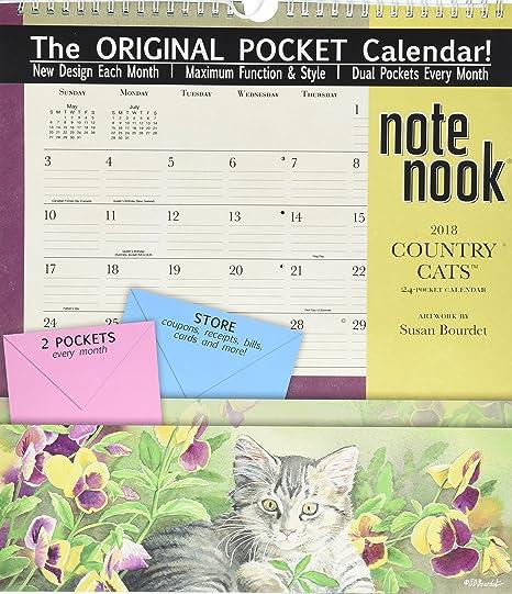 El Lang empresas wsbl país gatos 2018 Nota Nook oficina calendario de pared (18997007191)
