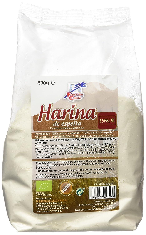 La Finestra Sul Cielo Harina de Espelta - 500 gr - [pack de ...