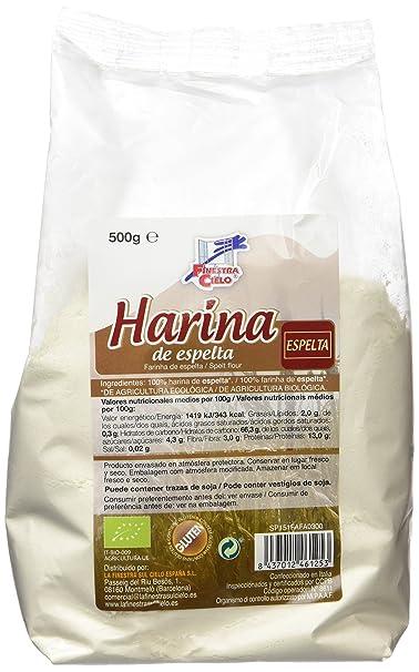 La Finestra Sul Cielo Harina de Espelta - 500 gr - [pack de 6]